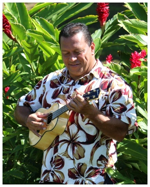 Troy Fernandez -  Press Photo Hawaiian Music